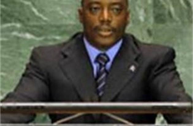 Congolese president laat premier Leterme sudderen