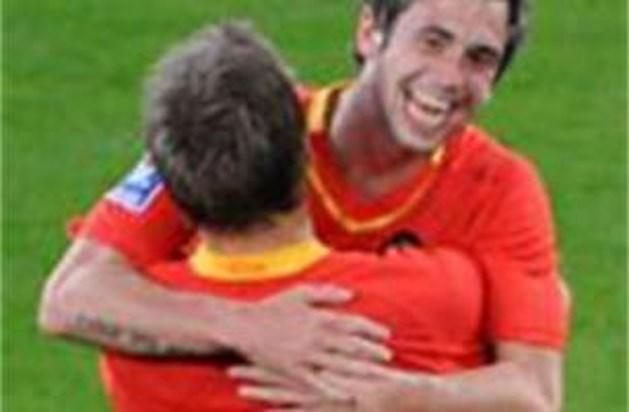 Sonck knalt Rode Duivels naar overwinning tegen Estland: 3-2