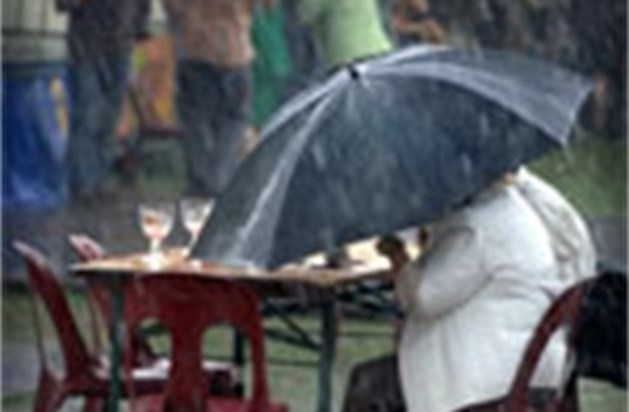 Uitzonderlijk veel regen- en onweersdagen in november