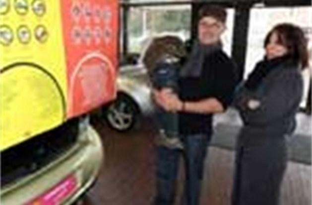 Stormloop op gratis  auto's van Cardoen