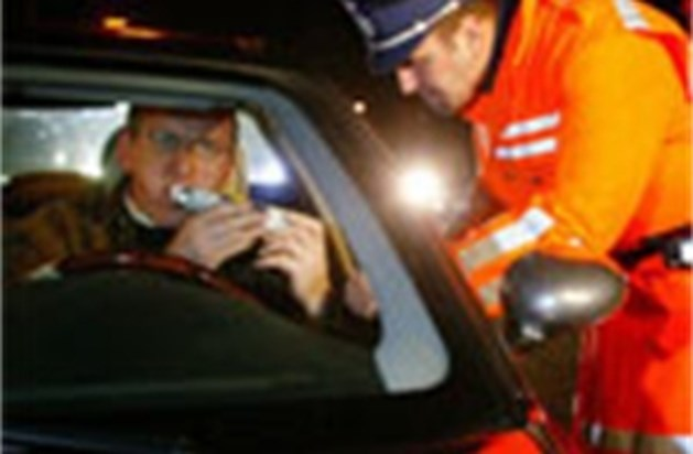 Drie procent chauffeurs teveel gedronken bij Slim-acties