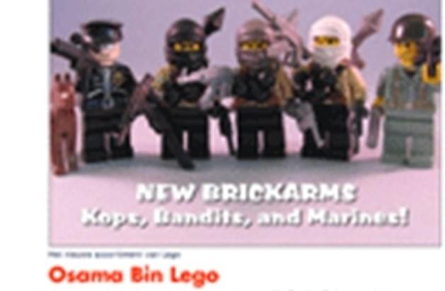 Zijn Lego-poppetjes van Al-Qaida ideaal kerstgeschenk?