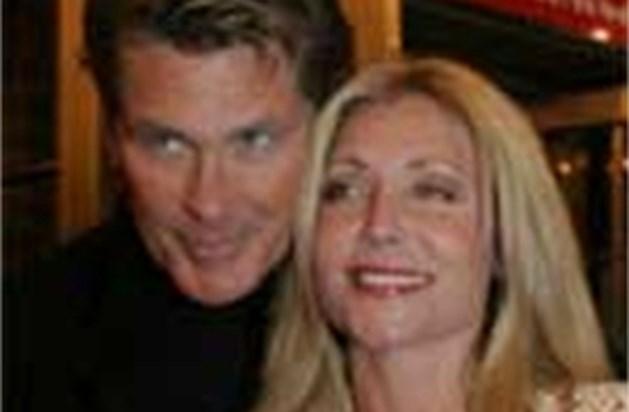 David Hasselhoff zet ex-vrouw per direct op straat