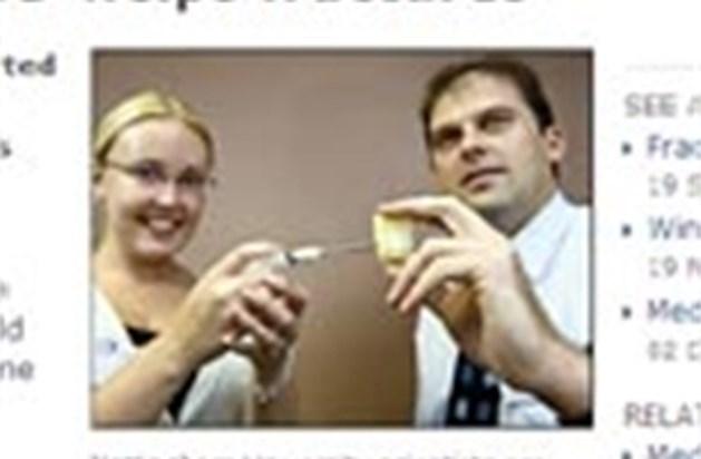 Injecteerbare substantie helpt breuken genezen
