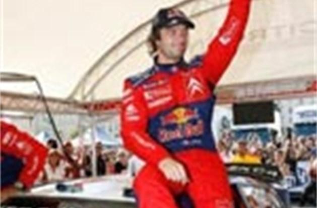 Wereldkampioen Loeb wint rally van Wales