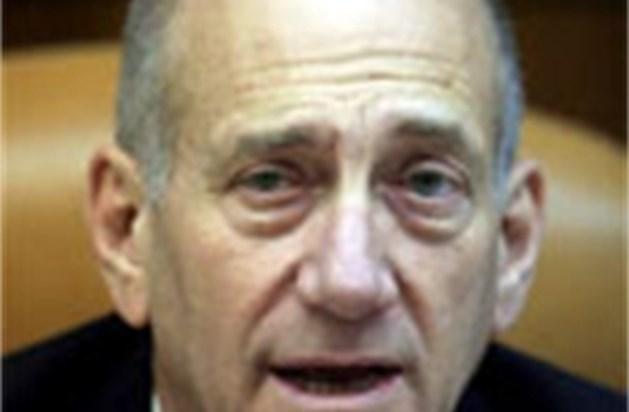 Olmert schaamt zich voor geweld in Hebron