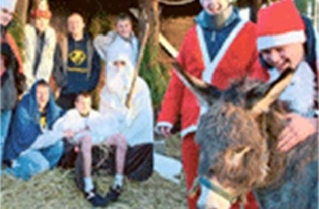 Steeds minder levende kerststallen