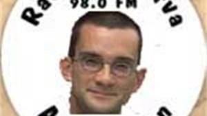Christophe Lambrecht dj bij radio Minerva