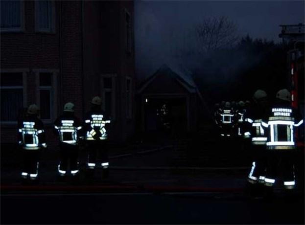 Uitslaande brand aan Koolmijnlaan