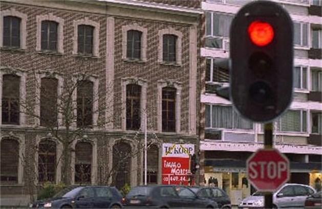 In Beringen wel boete voor wie door rood licht rijdt