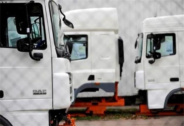 Werknemers DAF Trucks hervatten werk