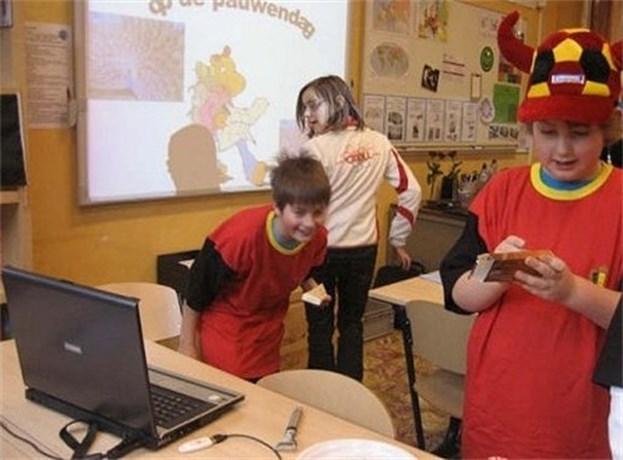 Pauwendag in Basisschool St-Jan te Kerkhoven