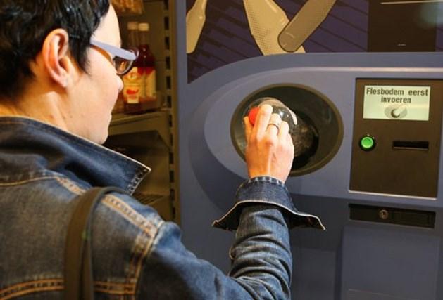 Belgische petfles in Nederland 25 cent waard