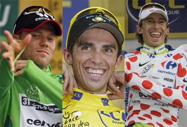 Klassementen Tour de France