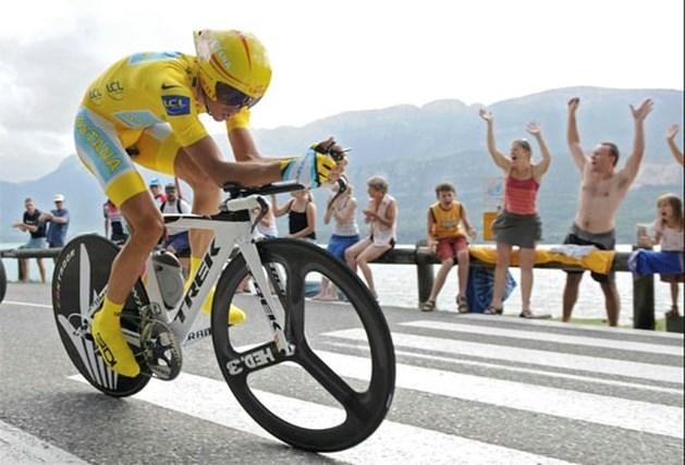 Contador verpulvert concurrentie, Armstrong wordt derde in stand