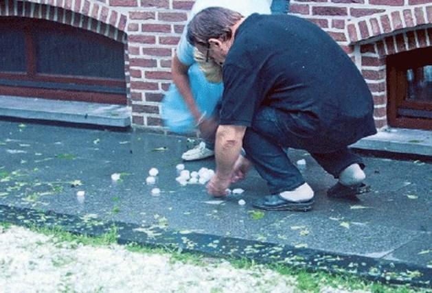 Drieduizend schadedossiers ingediend na hagelstorm