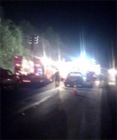 Vier doden na helicrash op snelweg