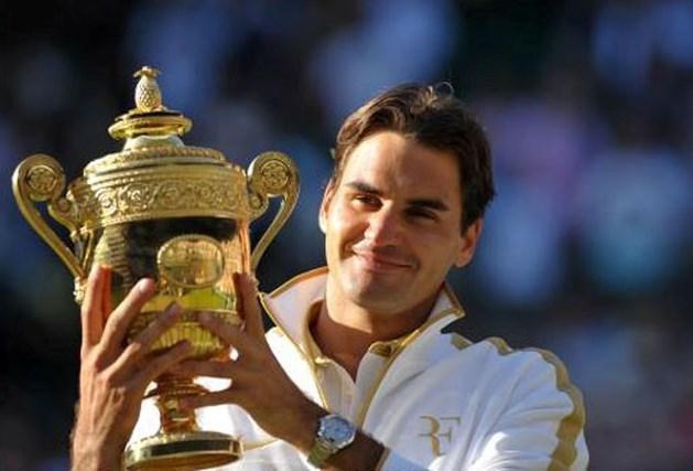 Roger Federer fiere papa van tweeling