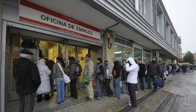 Spanje kent hoogste werkloosheidsgraad in de EU