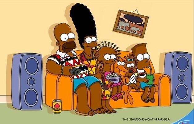 'The Simpsons' krijgen een Afrikaans tintje