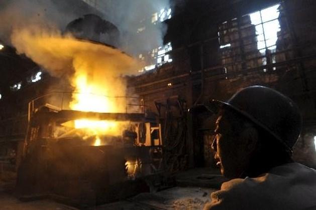 Wereldproductie staal gaat hard