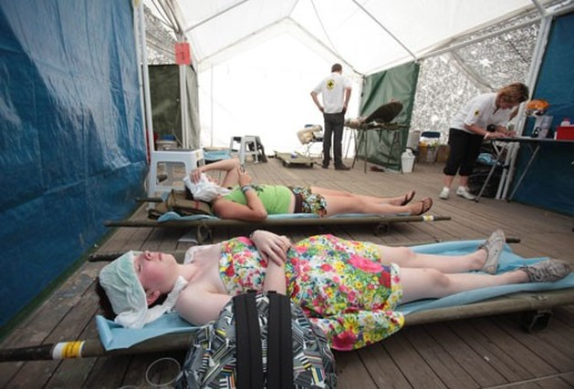 1.500 medische interventies op tropisch Pukkelpop