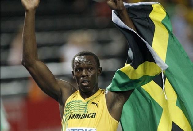 Usain Bolt pakt goud op 200 meter met nieuw wereldrecord