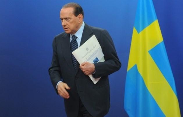 Berlusconi toch niet aanwezig op Europese top Brussel
