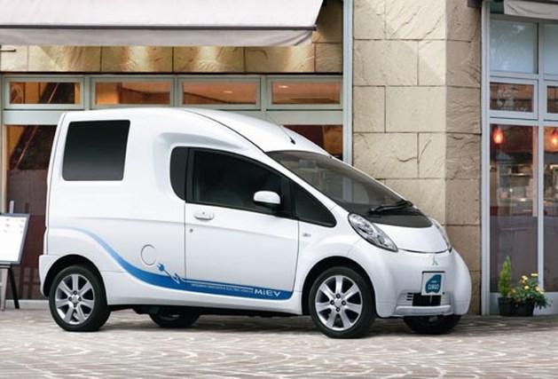 Mitsubishi iMEV Cargo: stadsbestelwagen
