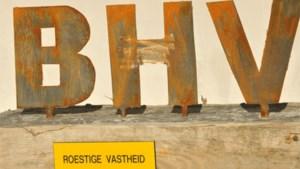 Militanten Voorpost eisen in Zaventem splitsing B-H-V