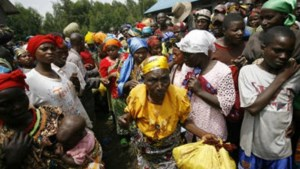 Congolese vluchtelingen overspoelen Congo-Brazzaville