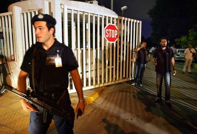 Een dode na aanslag Grieks ministerie