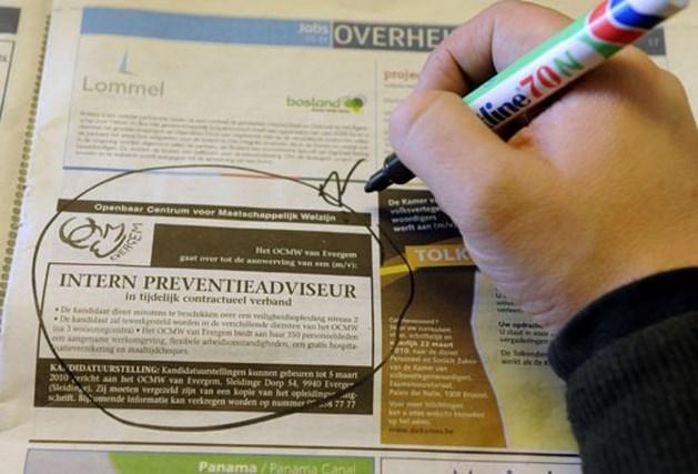 Aantal jonge werklozen in Limburg stijgt enorm