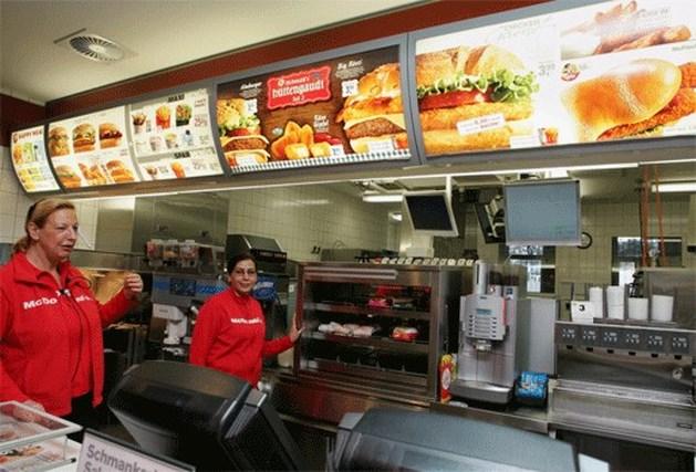 Protest tegen Happy Meal van McDonalds