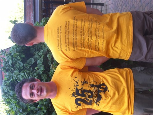 Feest T-shirt voor The Classic