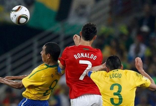 Brazilië en Portugal naar achtste finales
