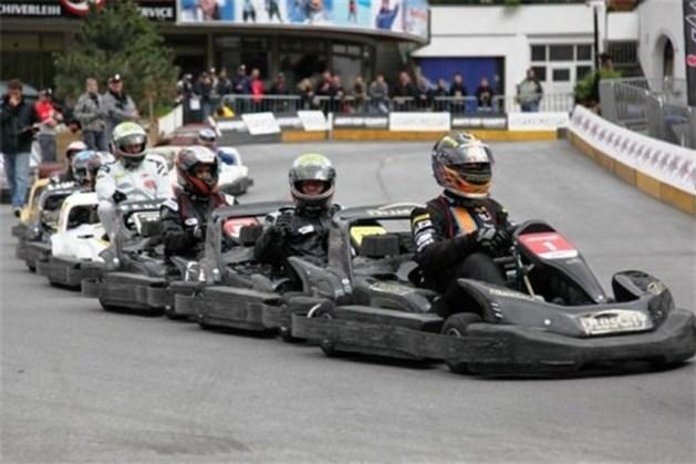 Anthony Kumpen racet met Flanders Media Karting team in Oostenrijk