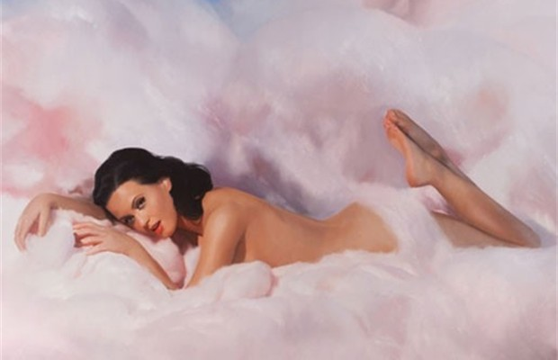 Katy Perry Naakt Op Albumhoes