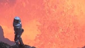 Spectaculaire beelden binnenin actieve vulkaan waren echt