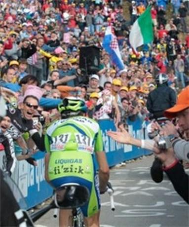 Zoncolan weer in Giro