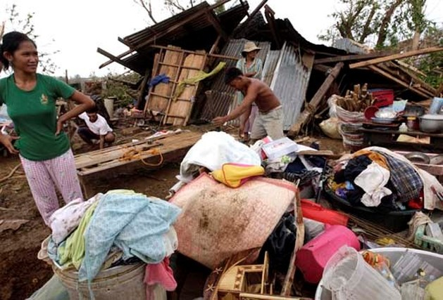 Orkaan Megi eist zeker 10 levens op Filipijnen