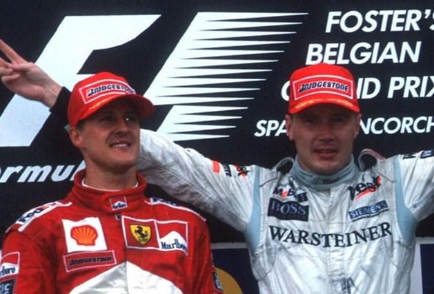 Zware kritiek op Schumacher kwam niet van Häkkinen