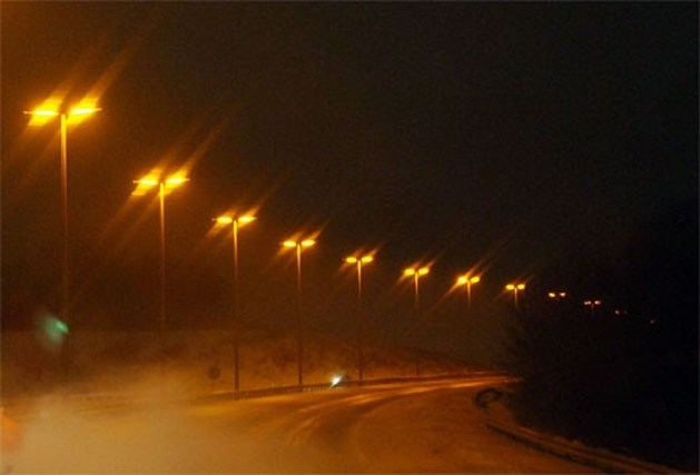Nederland stelt eerste autoweg met led-verlichting voor