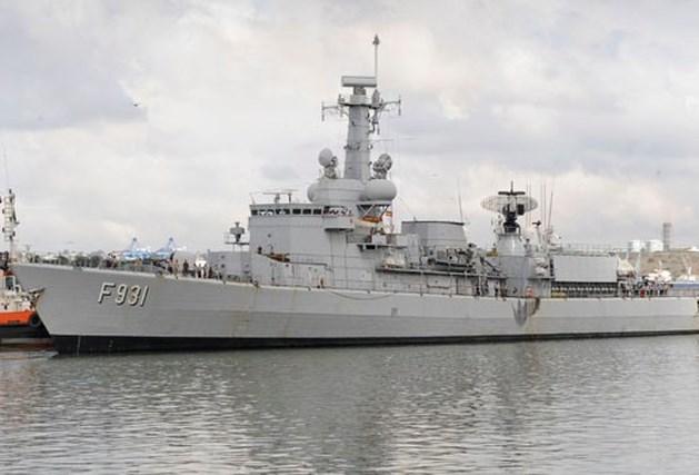 Belgisch fregat pakt 7 Somalische piraten op