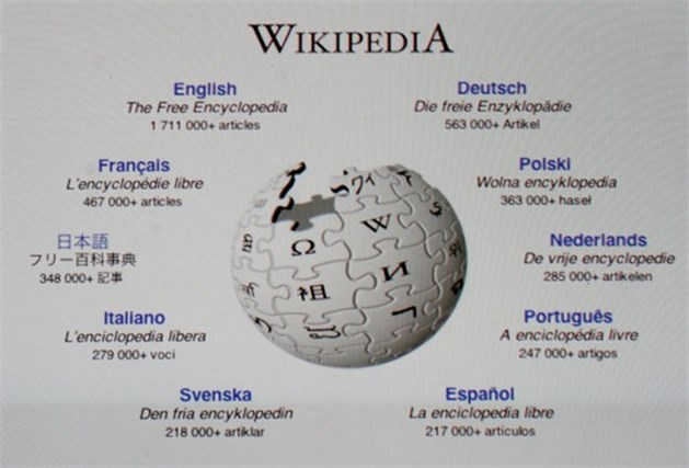 Wikipedia bestaat tien jaar
