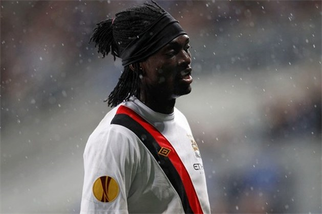 Manchester City leent Adebayor uit aan Real Madrid