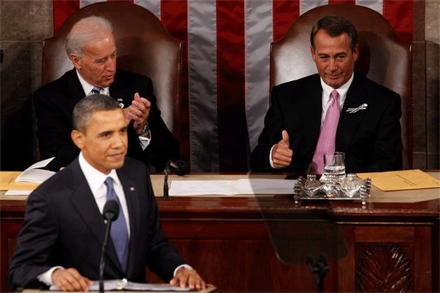 "Obama in State of the Union: ""VS voor tweede ""Spoetnik-moment"""
