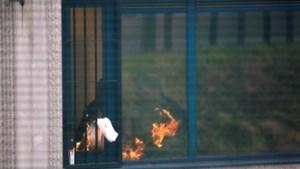 Onrust en brandstichting in asielcentrum Steenokkerzeel