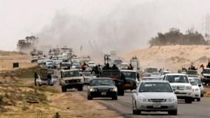 Benghazi vanuit de lucht aangevallen