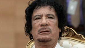 Kadhafi: